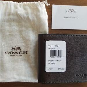 New Coach Wallet